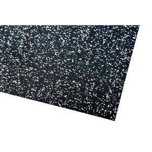acerto® Unterlegmatte für Fitnessgeräte 60x125cm (4mm) grau
