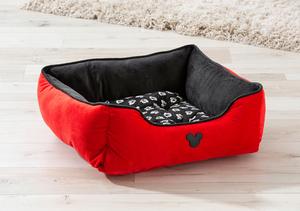 Disney Haustierkörbchen Rot/Schwarz