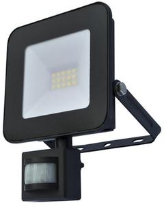 I-Glow LED-Fluter mit Bewegungsmelder, Schwarz