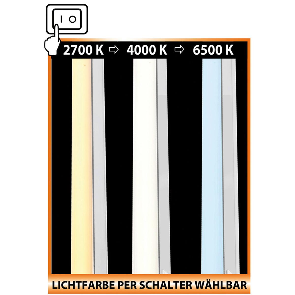 Bild 2 von Müller Licht LED-Unterbauleuchte mit Lichtfarbenwechsel und Drehkopf