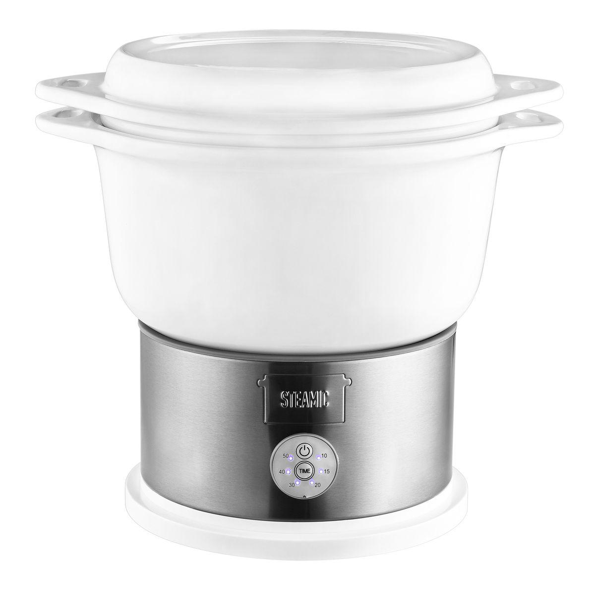Bild 1 von Kalorik Keramik-Dampfgarer TKG DG 1002 Schongarer mit 4,5 Liter Keramikschüssel, BPA-frei