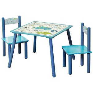 Kesper Kindertisch mit 2 Stühlen, Dino - 3er Set
