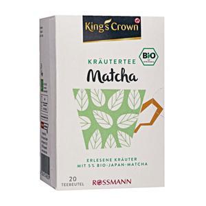 King´s Crown Bio Kräutertee Matcha 3.98 EUR/100 g