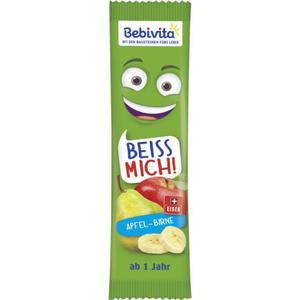 Bebivita Beiss Mich Früchte-Riegel Apfel-Birne 1.40 EUR/100 g (25 x 25.00g)