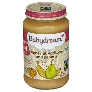 Babydream Bio Birne mit Aprikose & Banane 0.39 EUR/100 g (6 x 190.00g)