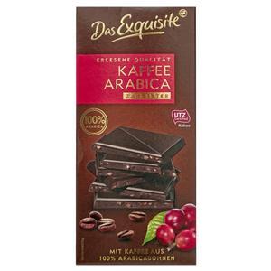 Das Exquisite Zartbitterschokolade Kaffee Arabica