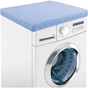 IDEENWELT Waschmaschinen-Schonbezug hellblau