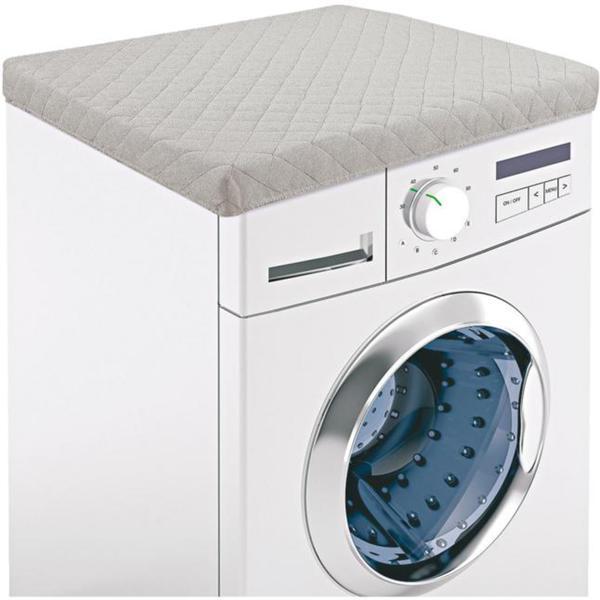 IDEENWELT Waschmaschinen-Schonbezug taupe