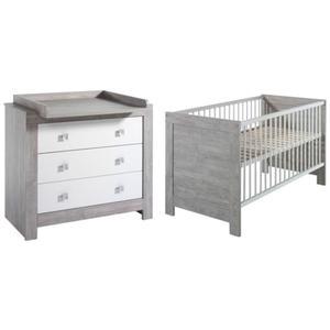 Schardt Kinderzimmer-Set ´´Nordic Driftwood´´ Dekor weiß