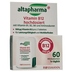 altapharma Vitamin B12 hochdosiert 60 Minitabletten