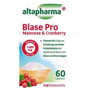 altapharma Blase Pro Mannose & Cranberry 60 Tabletten 12.02 EUR/100 g