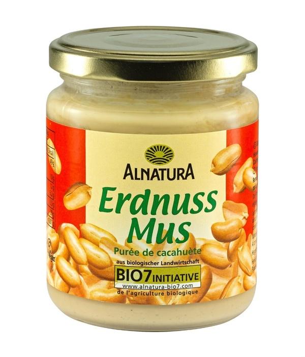 Erdnussmus, fein und ohne Salz