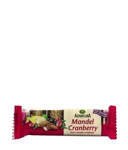Fruchtschnitte Mandel-Cranberry mit Aronia