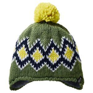 Jack Wolfskin Mütze Kinder Diamond Knit Cap Kids S grün
