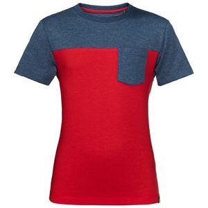 Jack Wolfskin T-Shirt Jungen Palouse T-Shirt Boys 164 rot