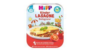 HiPP Pasta im ganzen Stück - Lasagne Bolognese