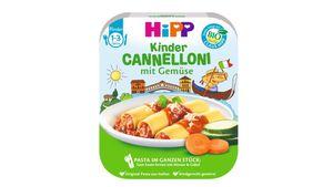 HiPP Pasta im ganzen Stück - Cannelloni mit Gemüse