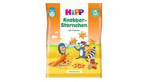 HiPP Knabberprodukte - Knabber Sternchen mit Gemüse