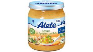 Alete Gemüse mit Spaghetti und Pute