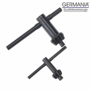 Germania Bohrfutterschlüssel 2-teilig 10mm 13mm Zahnkranz Bohrfutter Schlüssel
