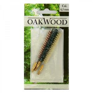Oakwood Reinigungsbürsten Cal.4,5mm 3tlg.Set Waffenpflegeset Pistolen Reinigung