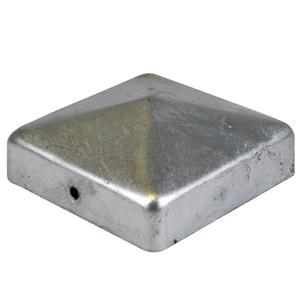 Pfostenkappe 81x81mm verzinkt Zaunkappe Abdeckkappe