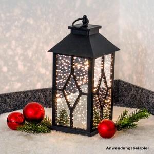 Laterne Lichtzauber aus Kunststoff