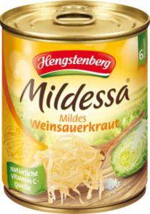 Hengstenberg Sauerkraut Mildessa 810 g