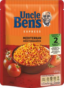 Uncle Bens Expressreis Mediterran 250 g