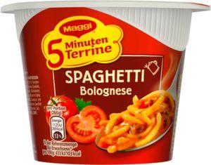 Maggi Spaghetti Bolognese, 5 Minuten Terrine 62 g