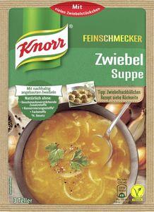 Zwiebelsuppe Knorr, Feinschmecker ergibt 0,5 L