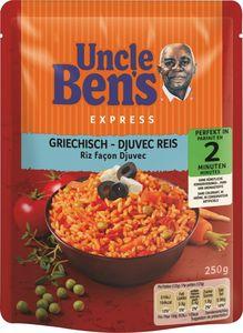 Uncle Bens Express Reis griechisch Djuvec 250 g