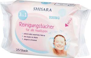 Shisara Young Reinigungstücher, 25 Stück