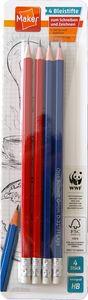 Bleistifte mit Tip 4er