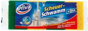 Netto Priva Scheuerschwamm, 4 Stück