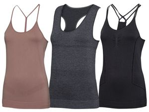 CRIVIT® Damen Yoga Top