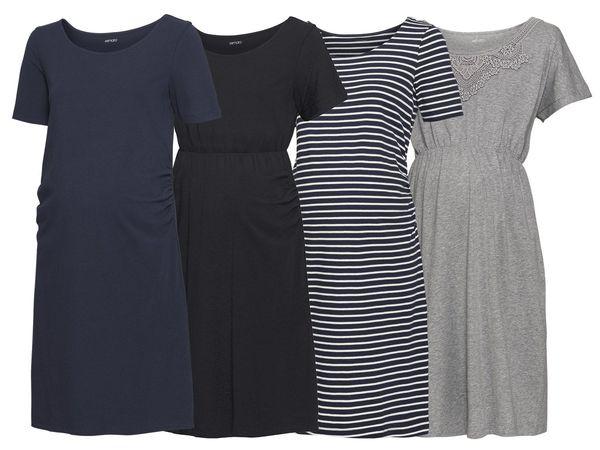 ESMARA® PURE COLLECTION Damen Umstands-Kleid