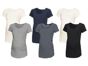 ESMARA® PURE COLLECTION 2 Damen Umstands-T-Shirts