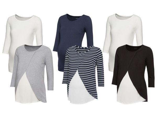 ESMARA® PURE COLLECTION 2 Damen Umstands-Shirts