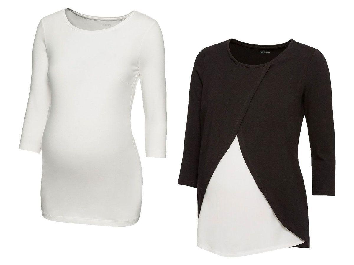 Bild 2 von ESMARA® PURE COLLECTION 2 Damen Umstands-Shirts