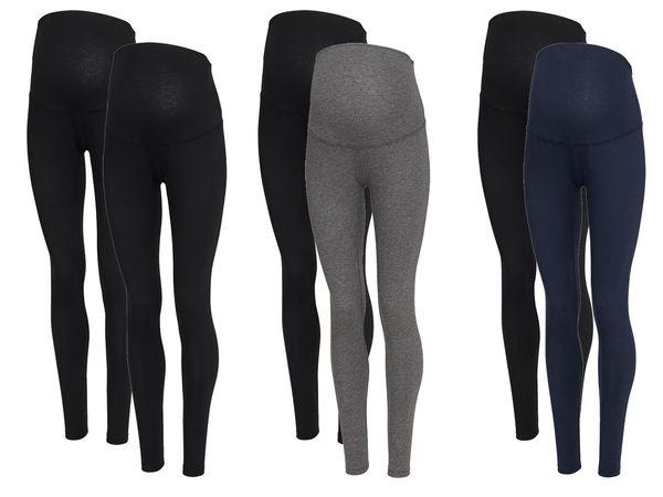 ESMARA® PURE COLLECTION 2 Damen Umstands-Leggings