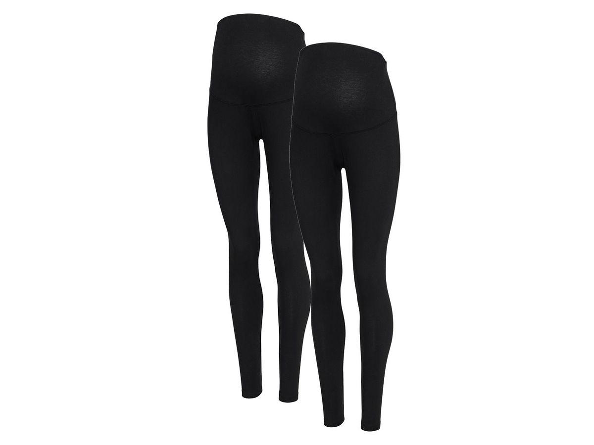 Bild 2 von ESMARA® PURE COLLECTION 2 Damen Umstands-Leggings