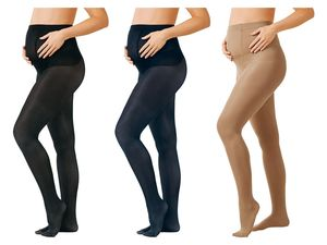 ESMARA® 3 Damen Umstands-Feinstrumpfhosen