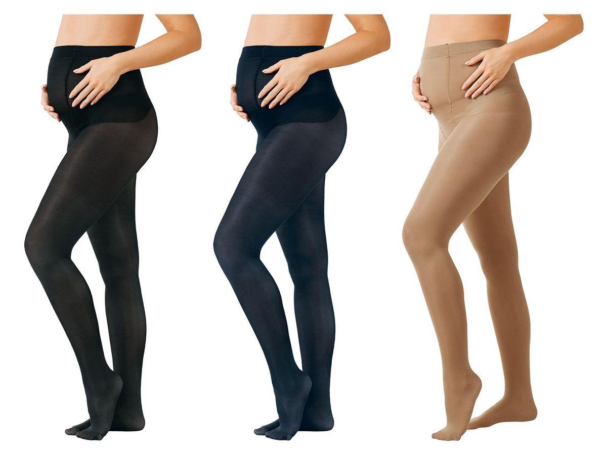 Bild 1 von ESMARA® 3 Damen Umstands-Feinstrumpfhosen