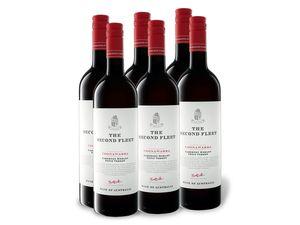 6 x 0,75-l-Flasche The Second Fleet Cabernet Merlot Petit Verdot trocken, Rotwein