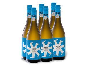 6 x 0,75-l-Flasche Weinpaket Bolyki Egri Csillag trocken, Weißwein