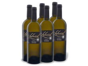 6 x 0,75-l-Flasche Weinpaket Salneval Rías Baixas DOC barrica, Weißwein