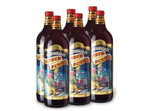 6 x 1,0-l-Flasche Weinpaket Christkindl Kinderpunsch