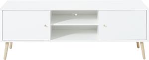 Germania GW-SENJA Lowboard - Weiß, 129 x 51 x 40 cm; 2492-84