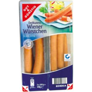 Gut & Günstig Delikatess Wiener Würstchen